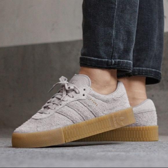 Original Adidas Sambarose Gray | Poshmark
